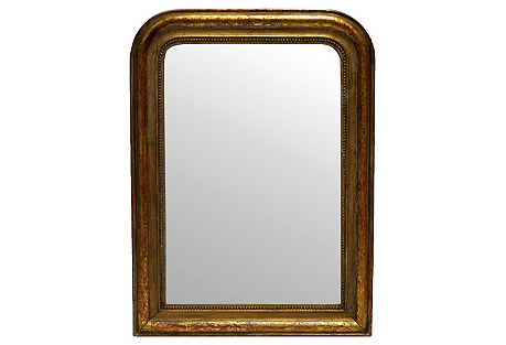 French Curved Mirror