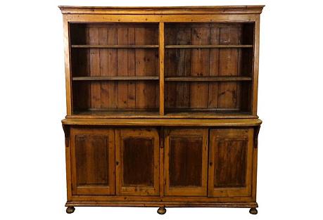 Pine & Oak French Bookcase