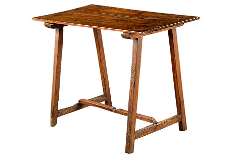 Rustic French Side Table