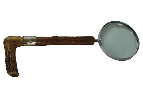 Stag Horn Magnifying Glass