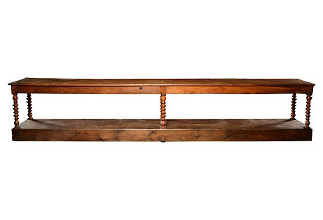 Oak Factory Table