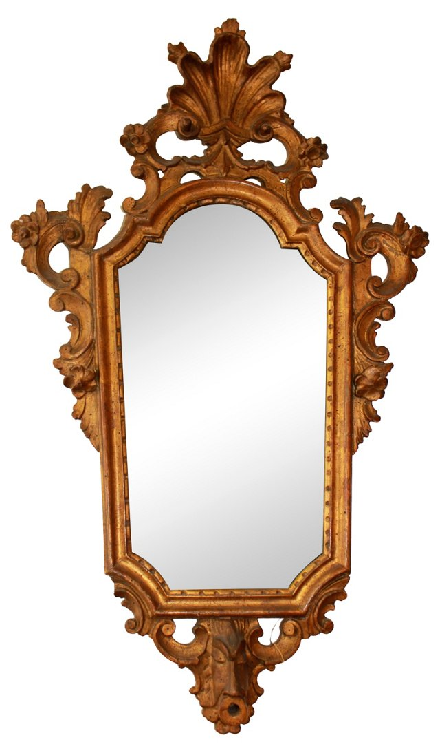 Gilded French Mirror, C. 1820