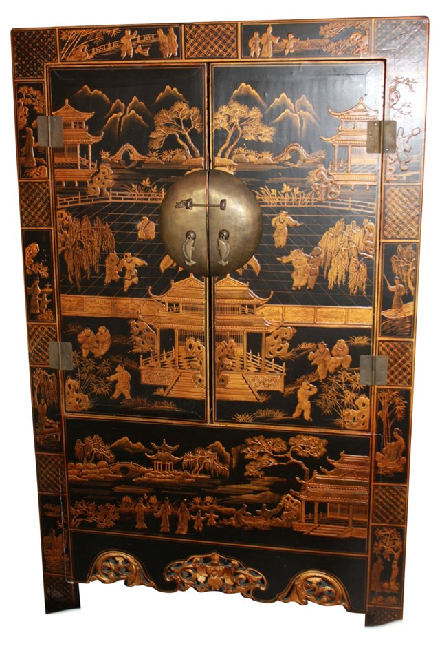 Asian-Style Cabinet