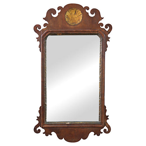 Federal Mirror w/ Gold Leaf Medallion