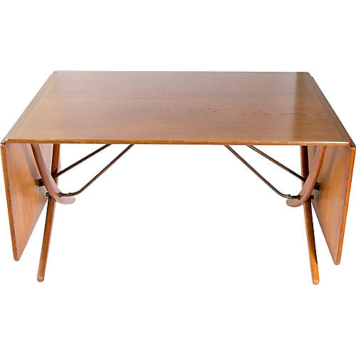 H. Wegner for Andreas Tuck Dining Table