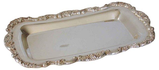 Baroque-Style Silver Dish