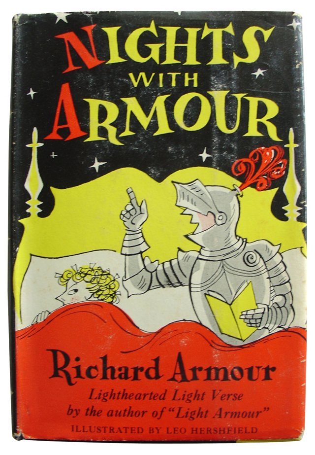 Nights with Armour, 1st Ed, Signed