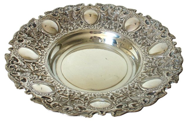 Spanish Silver Tray