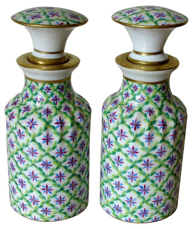 Le Tallec Paris Perfume Bottles, Pair