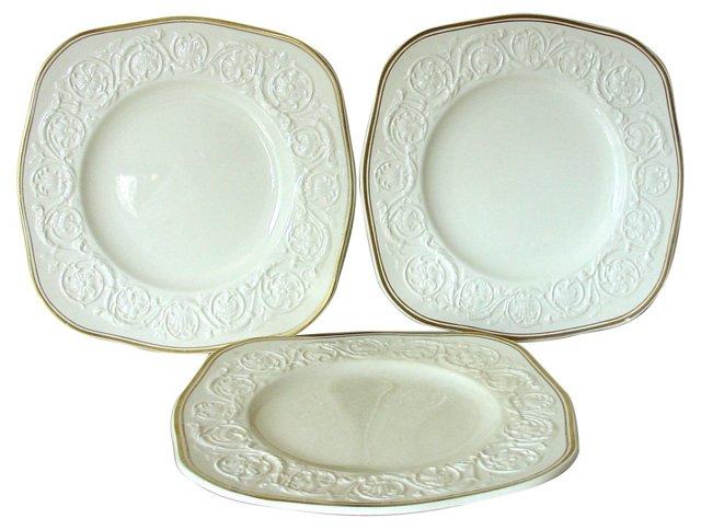 Wedgwood Athenian Plates, Set of 3