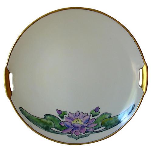 Lotus Cake Plate