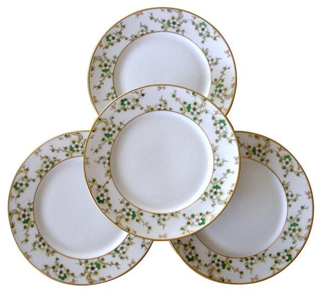 Ginori Plates, Set of 4