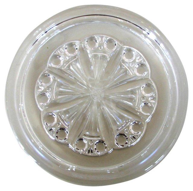 Baccarat Crystal Wine Coaster
