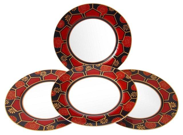 Kuruma Dinner Plates, Set of 4