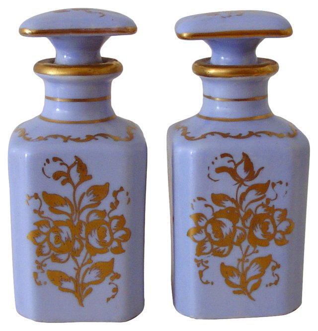 French Limoges Perfumes, Pair