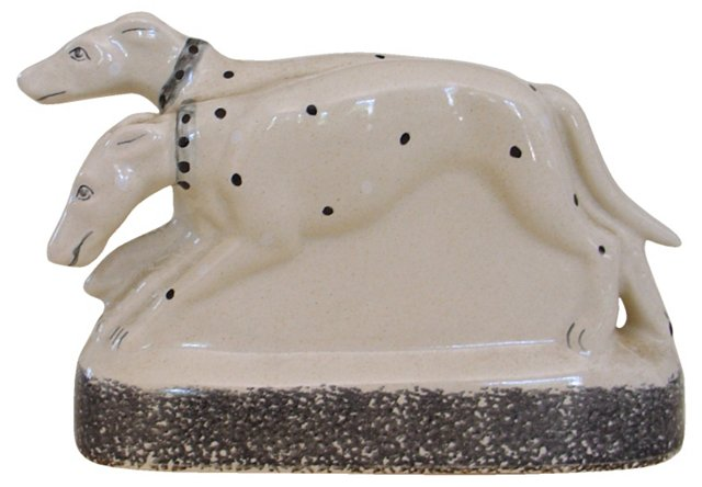 English Spotted Dog Figurine