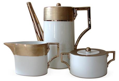 Richard Ginori  Coffee Set, 3 Pcs