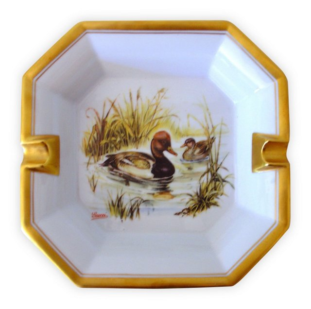 Gucci Ducks Cigar   Ashtray