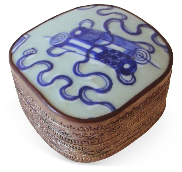 Antique Ceramic Box