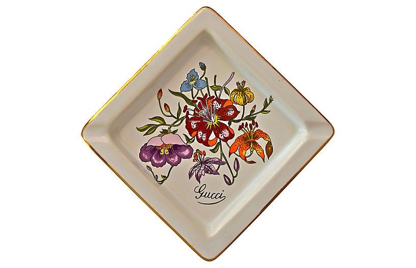 Gucci Floral Trinket Dish