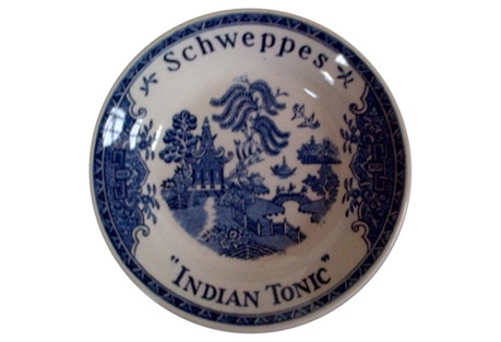 Gien French Schweppes Indian Tonic Tray
