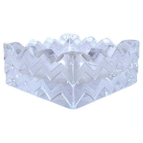 Lalique French Deco-Style Ashtray