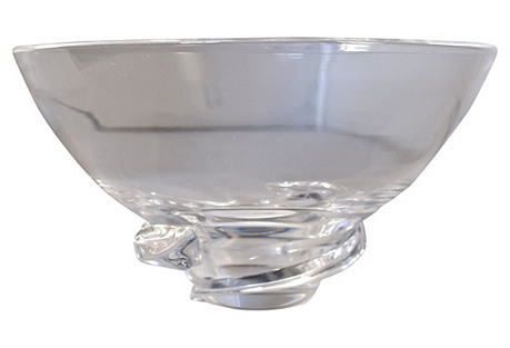 Steuben Spiral Bowl