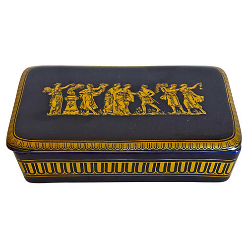 Greek Porcelain Box