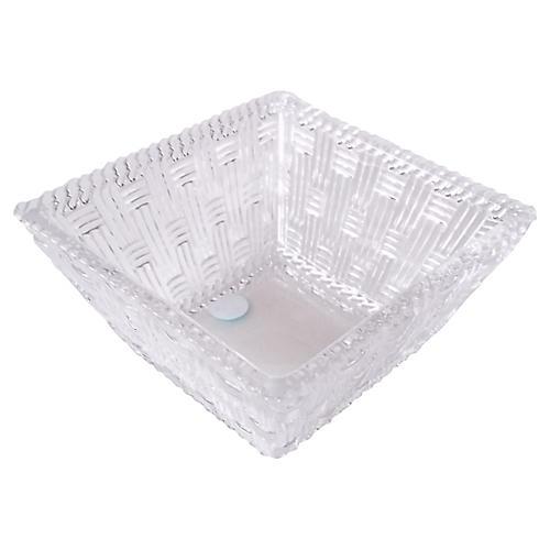 Tiffany & Co. Basket-Weave Bowl