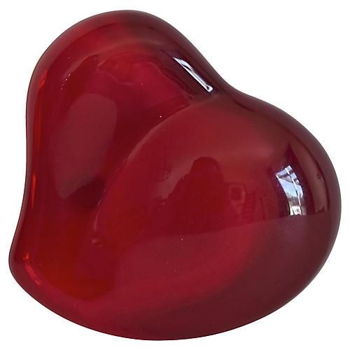 Tiffany & Co. Elsa Peretti Red Heart