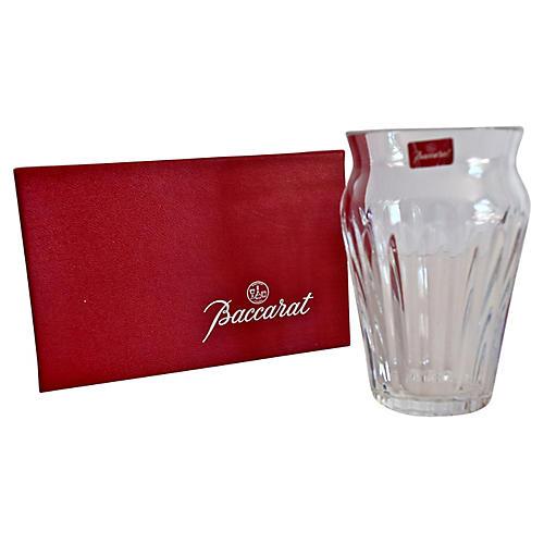 Baccarat French Crystal Vase w/ Box