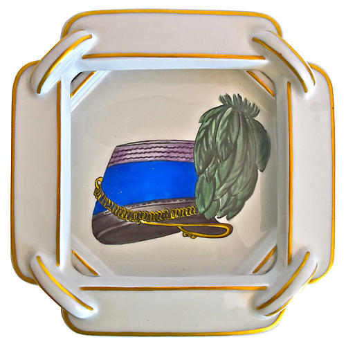 Hermès French Military Hat Cigar Ashtray