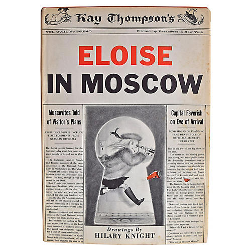 Eloise in Moscow, 1st Ed.