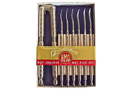 7-Pc Quackenbush Nutcracker & Picks