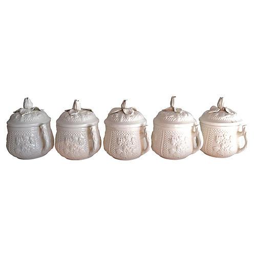 Italian Pots de Crème, S/5