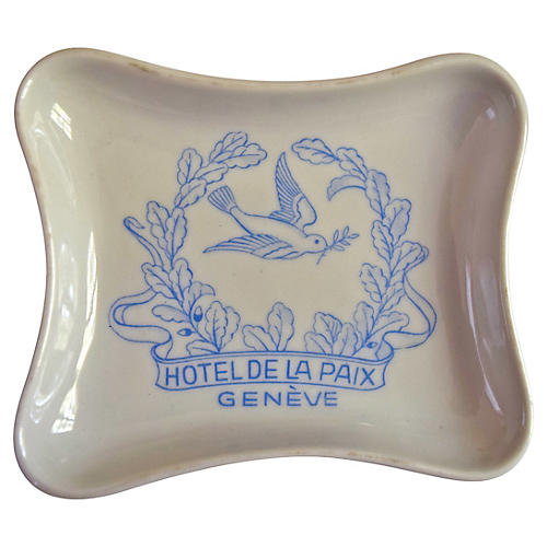 Hotel de la Paix Geneve Ashtray