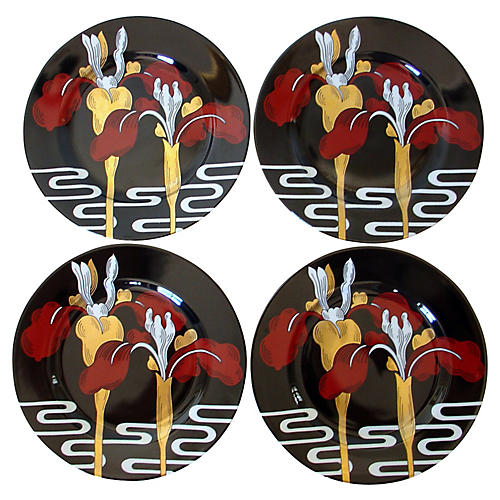 Iris d'Orient Plates, S/4