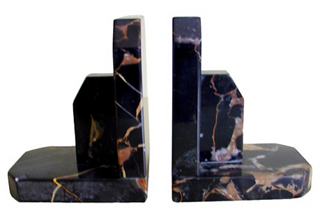 Marble Bookends, C. 1930