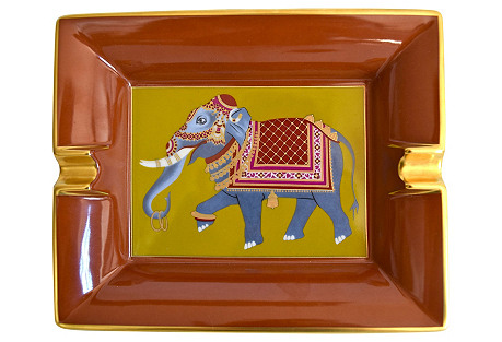Hermès France Elephant Cigar Ashtray