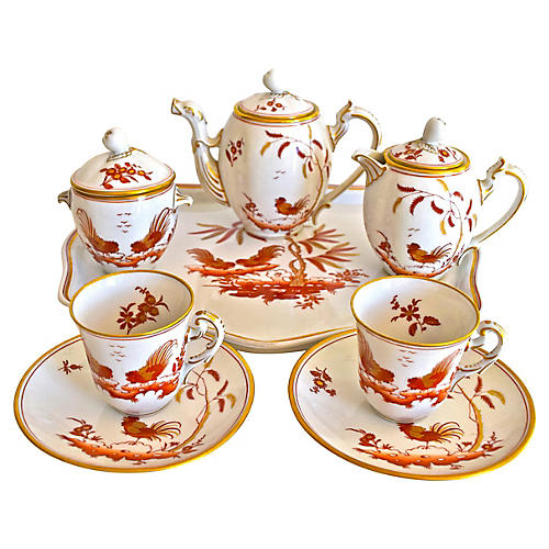 Richard Ginori Tea Set, 11-Pcs