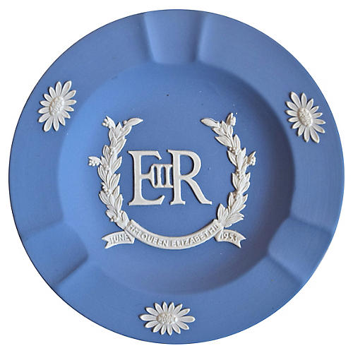 Wedgwood Queen's Coronation Ashtray