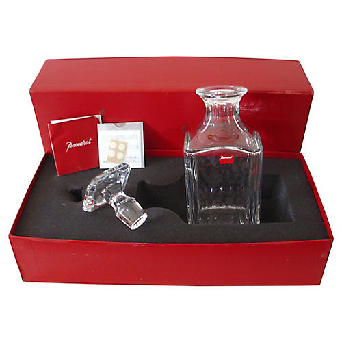 Baccarat Decanter w/ Box