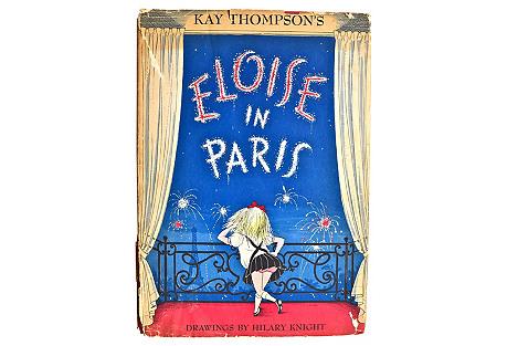 Eloise in Paris, 1st Ed.