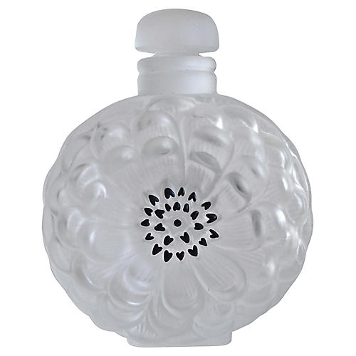 Lalique French Dahlia Perfume Bottle