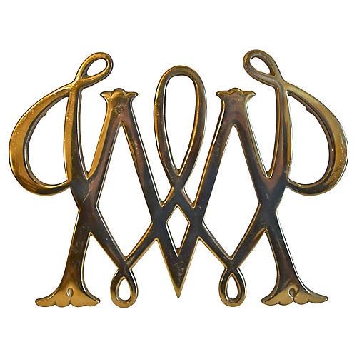 Williamsburg Brass Trivet