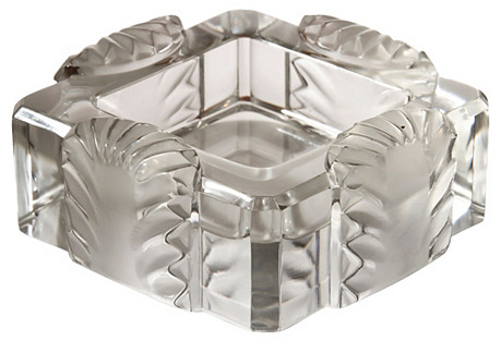 Lalique Art Deco Corfou Ashtray/Bowl
