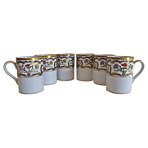 Christian Dior Renaissance Mugs Set of 6