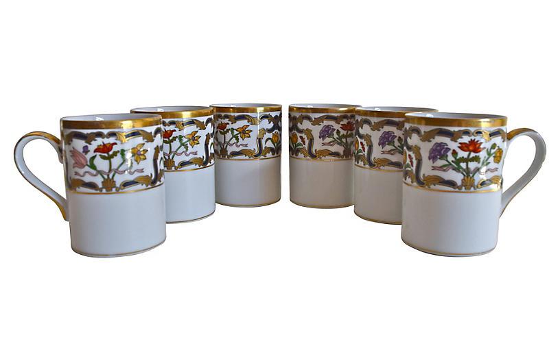 Christian Dior Renaissance Mugs, S/6