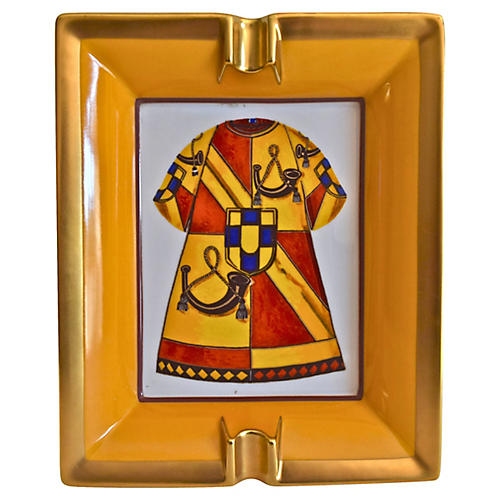 Hermès Medieval Surcoat Cigar Ashtray