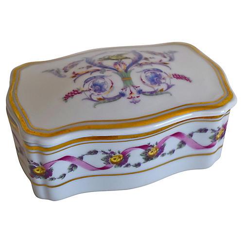 Ginori Rapallo Trinket Box